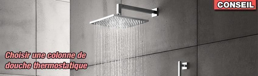 choisir une colonne de douche thermostatique distriartisan