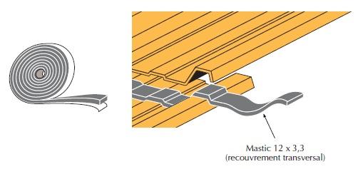 faynot joint etanch it transversale pour bac acier section 12x3 150ml distriartisan. Black Bedroom Furniture Sets. Home Design Ideas