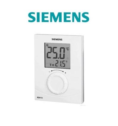siemens thermostat d 39 ambiance digital avec cran lcd. Black Bedroom Furniture Sets. Home Design Ideas