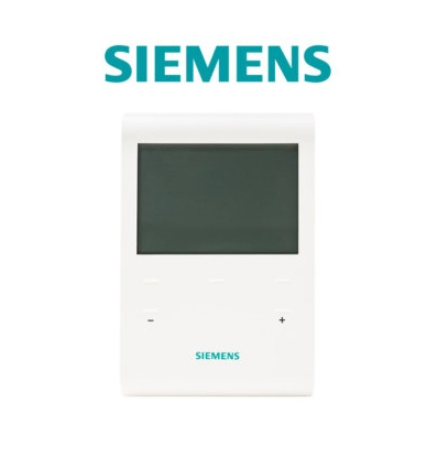 siemens thermostat d 39 ambiance digital et programmable. Black Bedroom Furniture Sets. Home Design Ideas