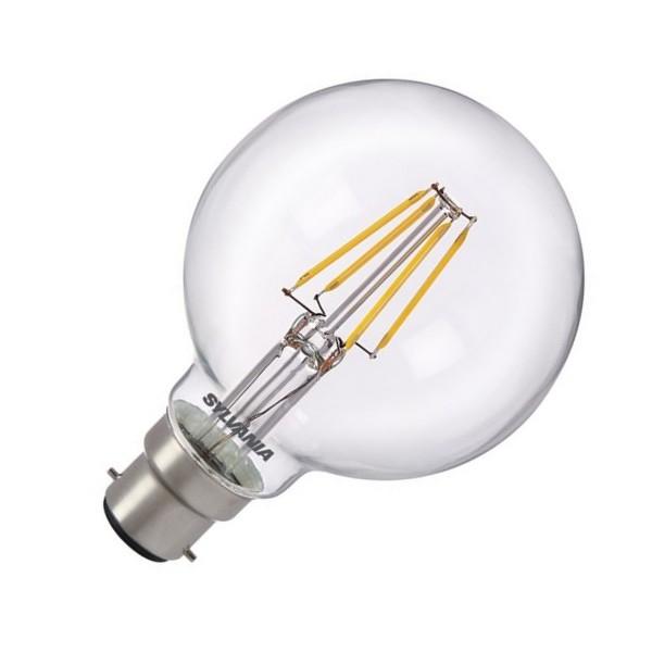 sylvania ampoule led b22 filament 5 watt eq 50 watt culot b22 distriartisan. Black Bedroom Furniture Sets. Home Design Ideas