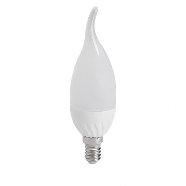 kanlux ampoule led e14 bougie 4 5 watt eq 35 watt couleur eclairage blanc chaud 3000 k. Black Bedroom Furniture Sets. Home Design Ideas