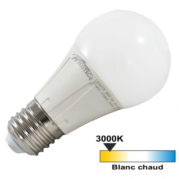 arcotec ampoule led e27 6 watt eq 40 watt 270 couleur eclairage blanc chaud 3000 k. Black Bedroom Furniture Sets. Home Design Ideas