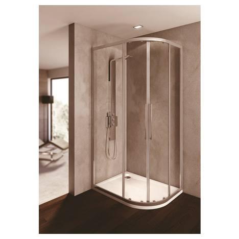 ideal standard cabine de douche kubo acc s angle pour receveur asym trique distriartisan. Black Bedroom Furniture Sets. Home Design Ideas
