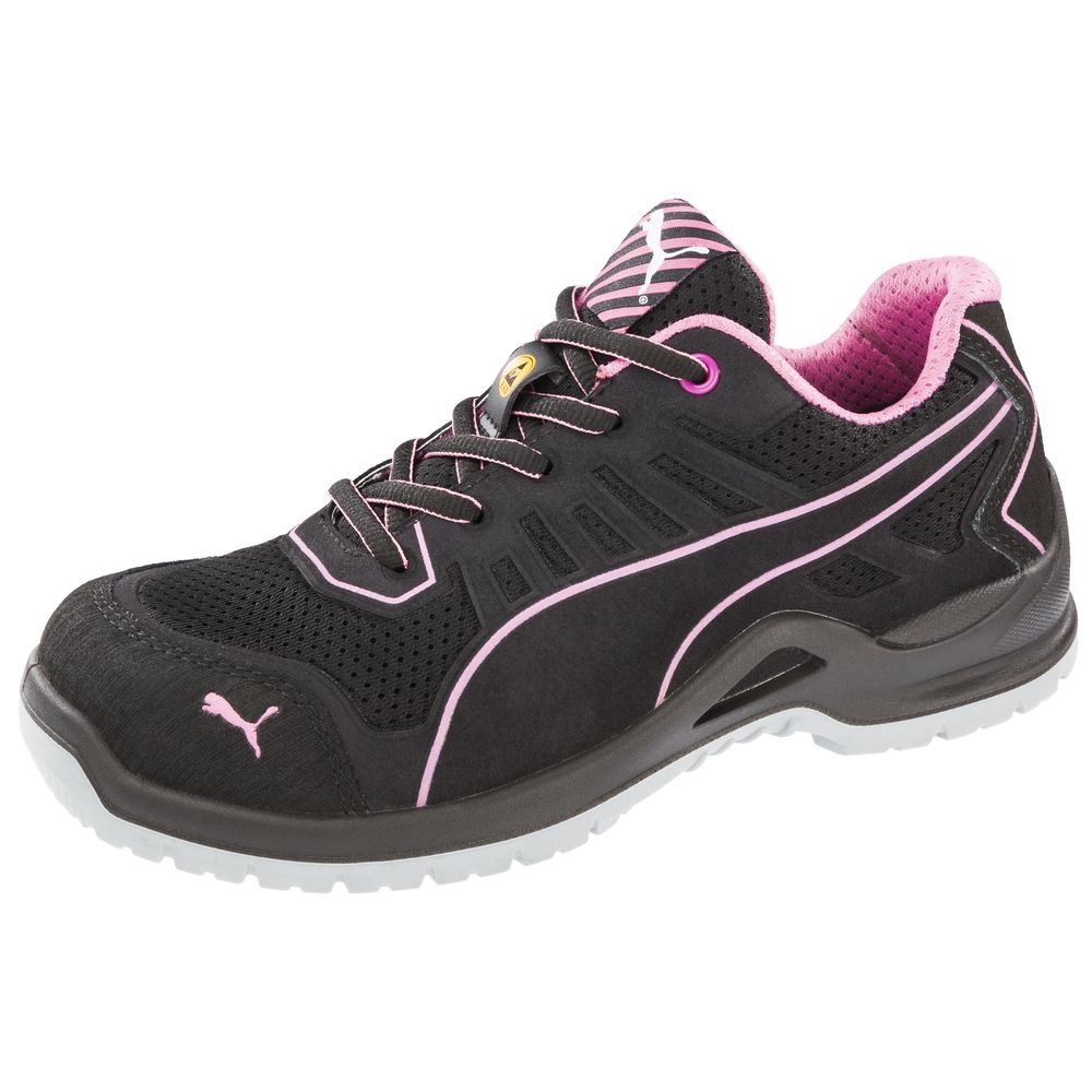 puma chaussures de s curit basses femme fuse pink esd. Black Bedroom Furniture Sets. Home Design Ideas