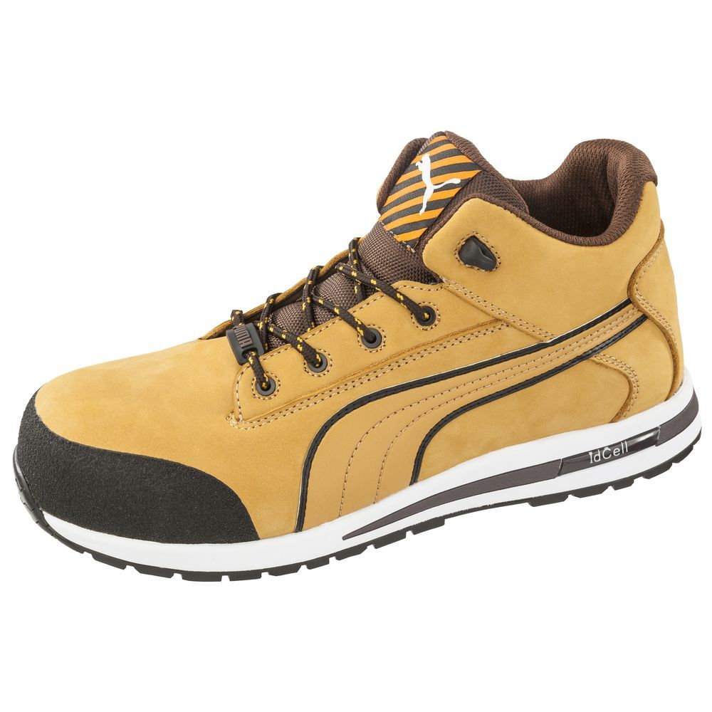 puma chaussures de s curit montantes 100 non m tallique dash wheat s3 src distriartisan. Black Bedroom Furniture Sets. Home Design Ideas
