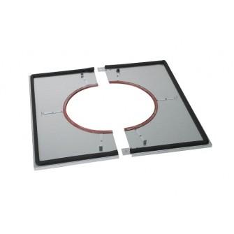 poujoulat plaque distance de s curit tanche plafond pour conduit inox galva 180 230. Black Bedroom Furniture Sets. Home Design Ideas