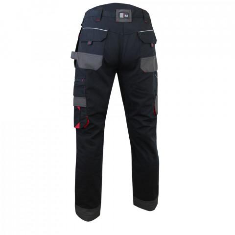 71ec0707605d1 Pantalon de travail à genouillères multi poches lma minerai - Taille au  choix ...
