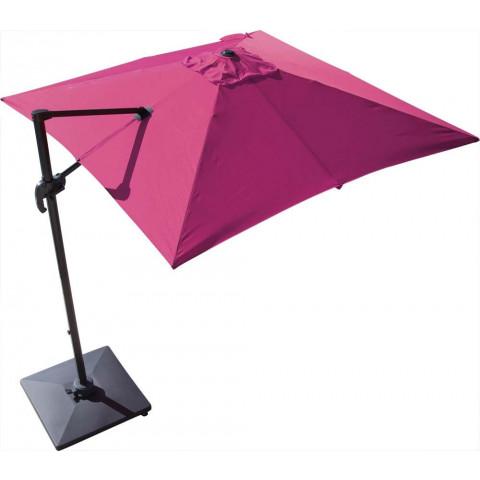 Parasol Déporté 300x300 Cm Orient Coloris Au Choix