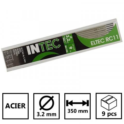 Electrodes rutile 2 x 350mm INE Baguette soudure /à larc Acier-baguettes enrob/ées-soudage mma-boite de 375 pi/èces