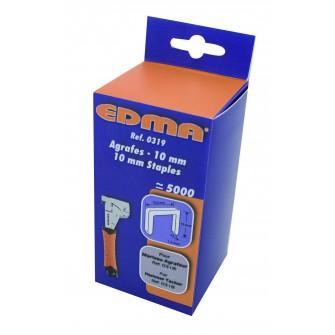 Boite 5000 agrafes 10 mm pour marteau Puncher