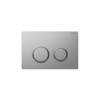 Plaque de commande Sigma 20 Geberit chrome-mat-brillant
