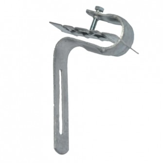 Pince adaptable pour pose sur tuiles 200G acier GAF avec visserie