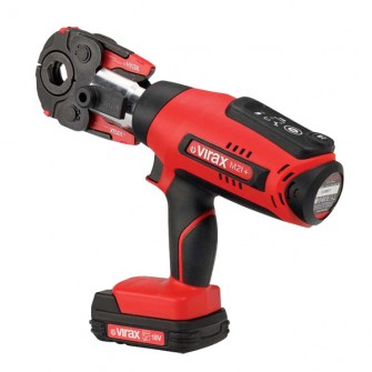 Presse à sertir électro-mécanique Viper® M21+ Virax + pince mère + 2 batteries + chargeur