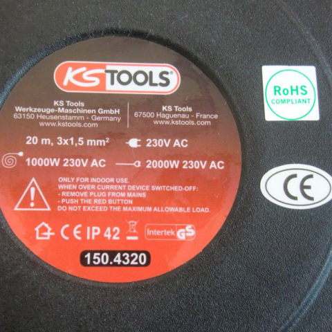 Automatique M De Câble 20 Ks Enrouleur Tools SqVGLpUzM
