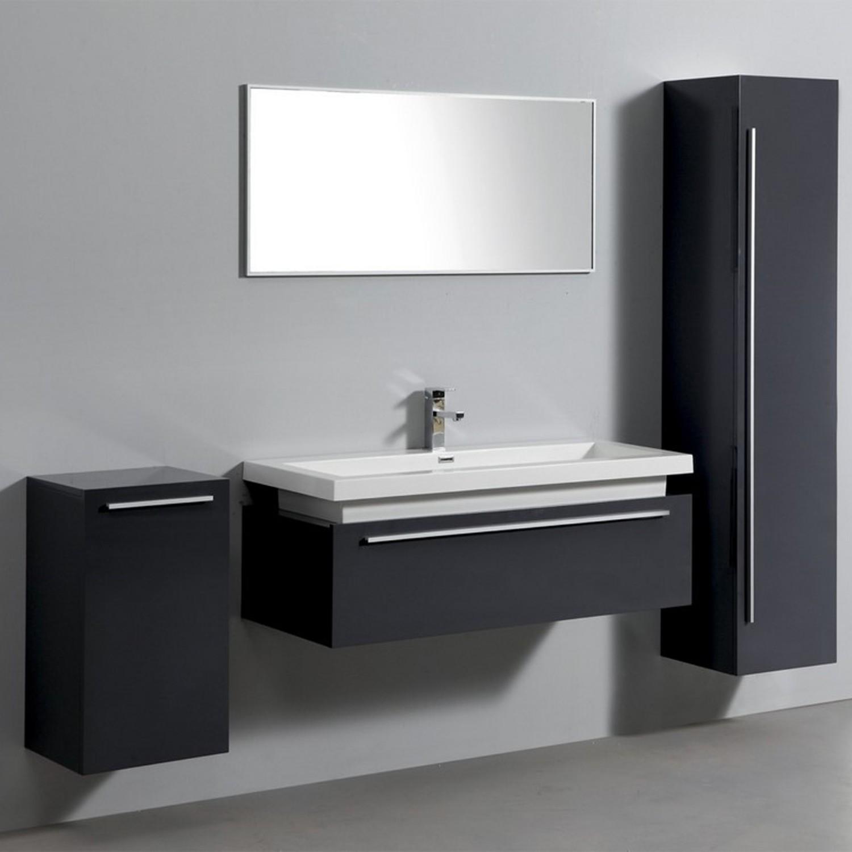 ensemble complet meuble de salle de bain rio 1 vasque 1. Black Bedroom Furniture Sets. Home Design Ideas