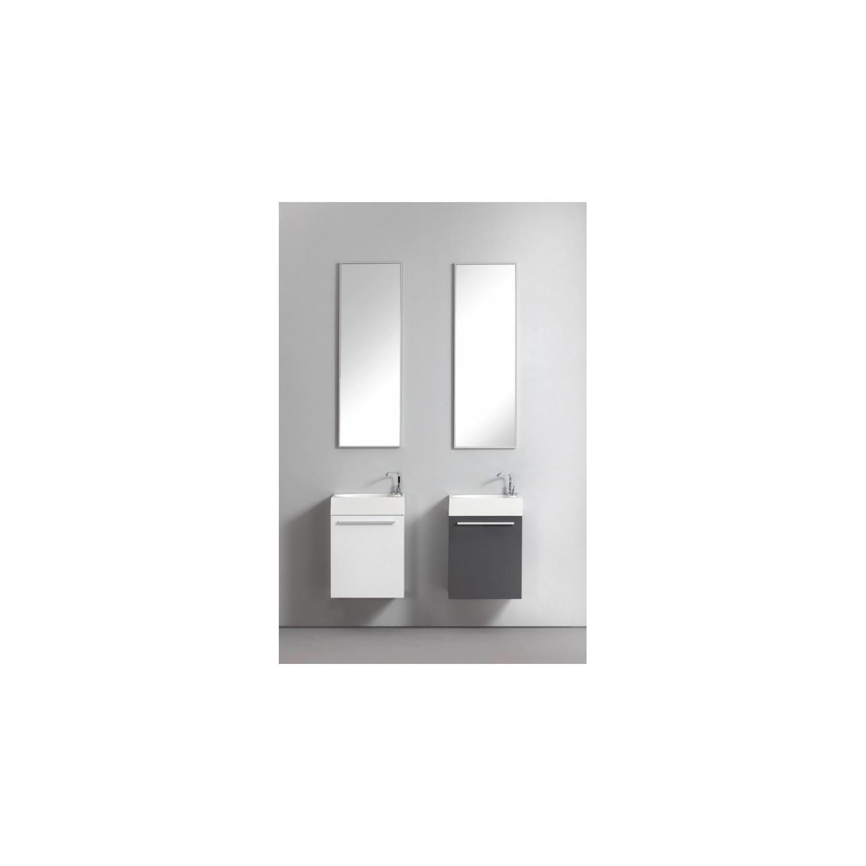 Import diffusion ensemble meuble salle de bains lave for Meuble wc blanc