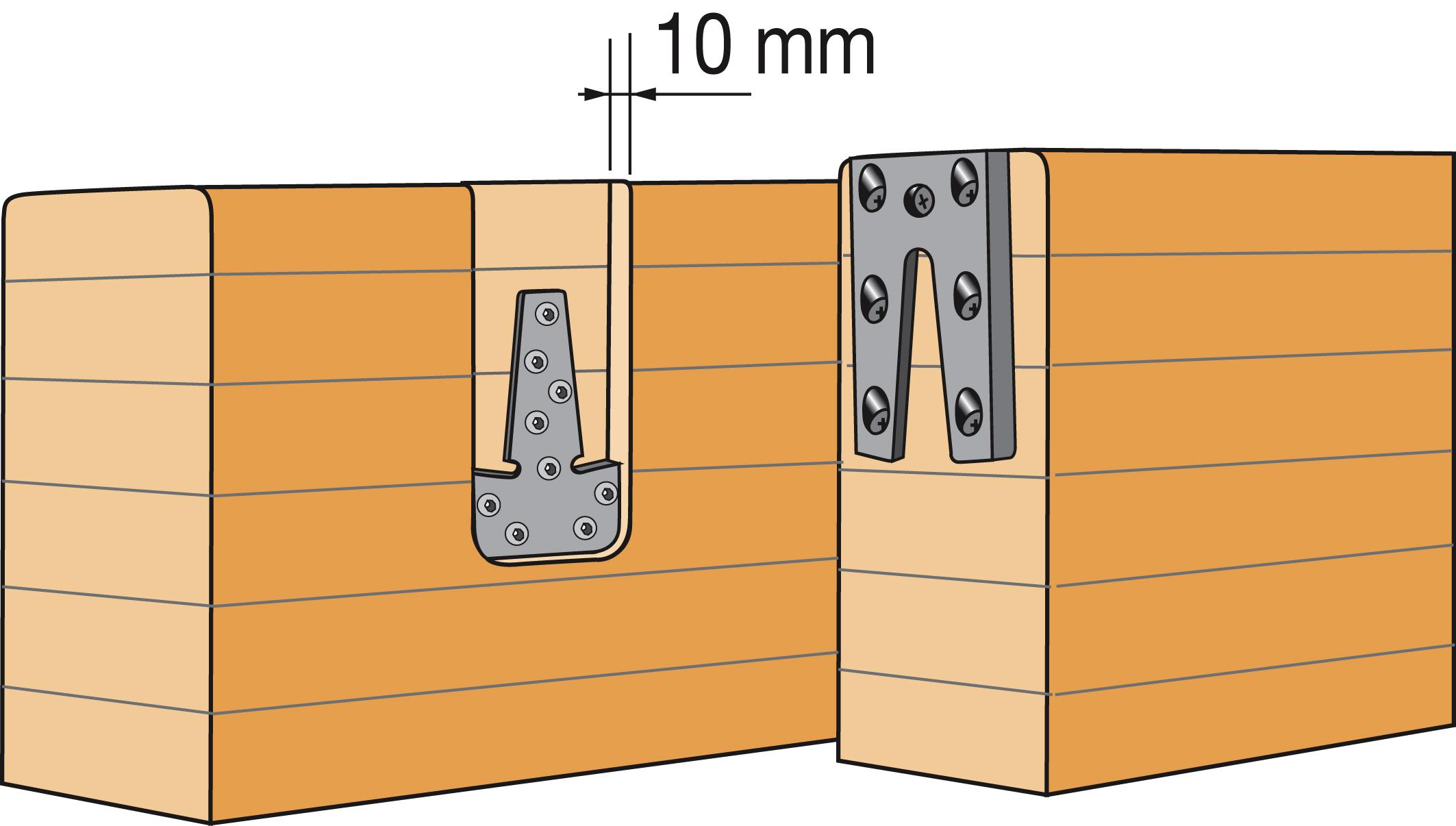 simpson etriers queue d 39 aronde dimensions au choix distriartisan. Black Bedroom Furniture Sets. Home Design Ideas