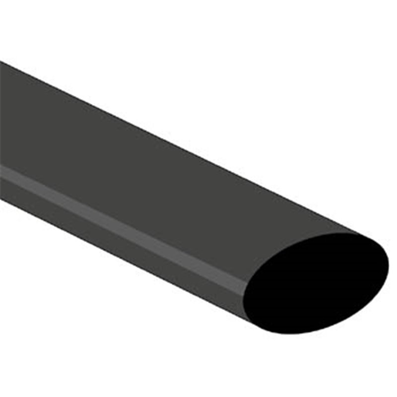 perel gaine thermoretractable 2 1 19 0mm noir 1m version