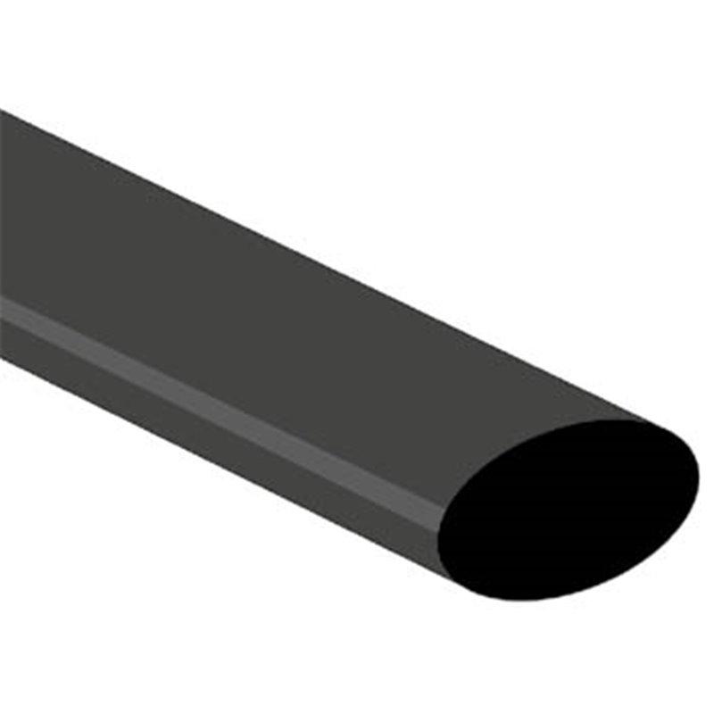 perel gaine thermoretractable 2 1 19 0mm noir 25 pcs