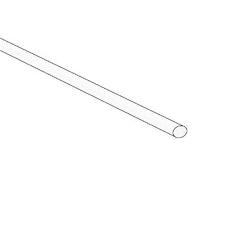 perel gaine thermoretractable 2 1 2 4mm blanc 50 pcs