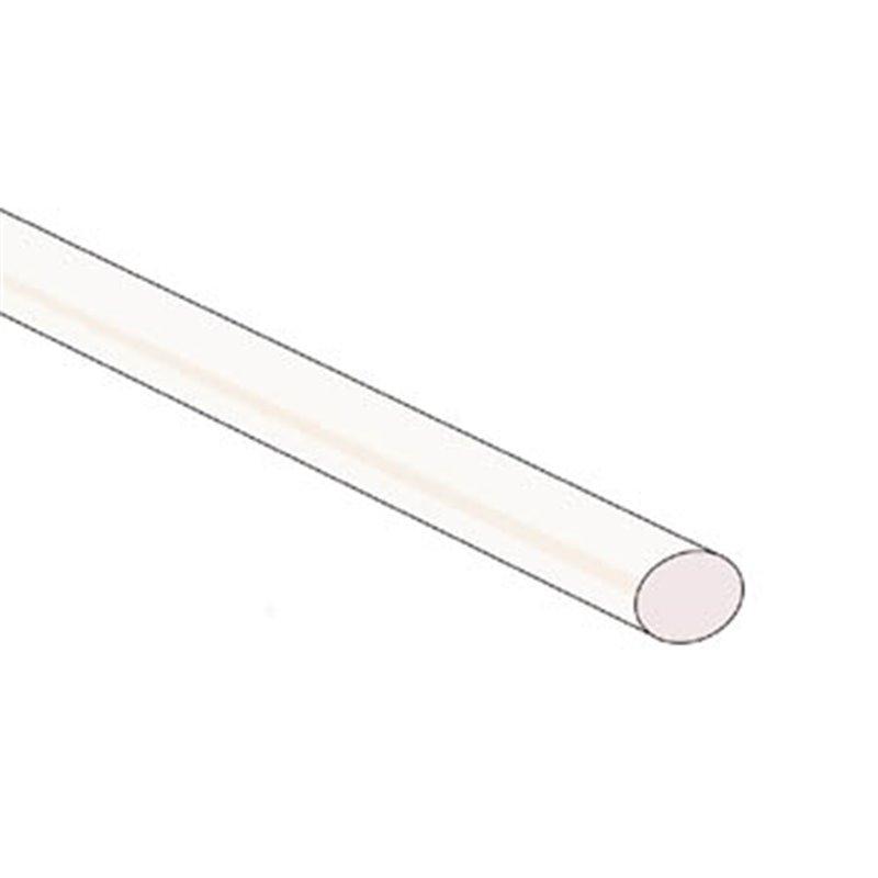 perel gaine thermoretractable 2 1 4 8mm transparent 50 pcs