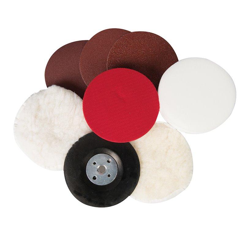 kit polissage pour perceuse. Black Bedroom Furniture Sets. Home Design Ideas