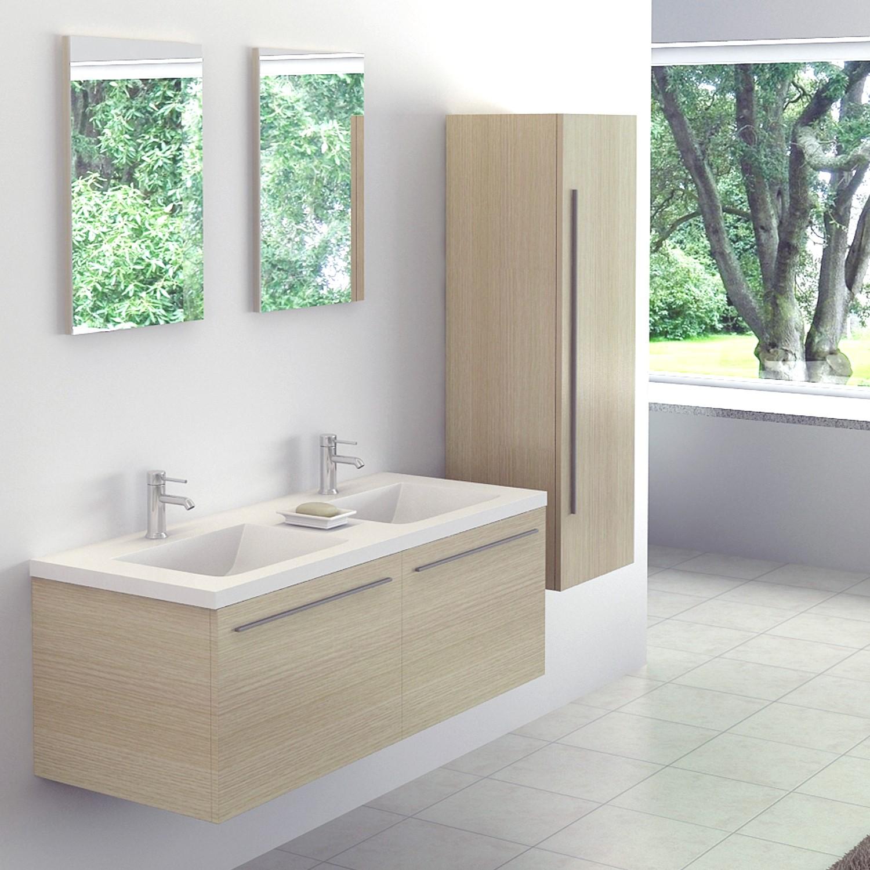 Import diffusion meuble salle de bains 120 cm for Meuble bureau 120 cm