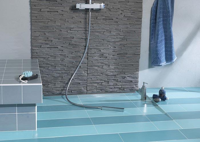 receveur de douche lazer