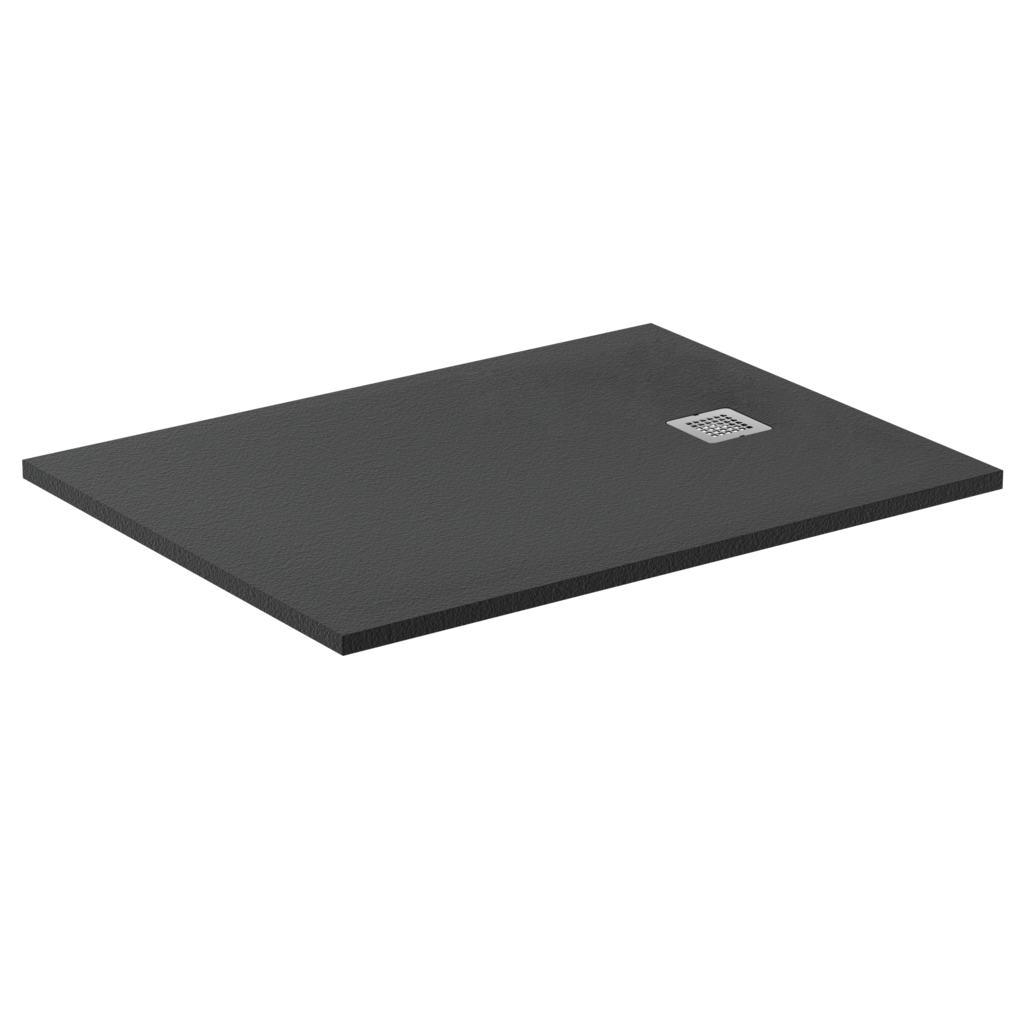 ideal standard receveur de douche antid rapant ultra flat s noir intense dimensions au choix. Black Bedroom Furniture Sets. Home Design Ideas