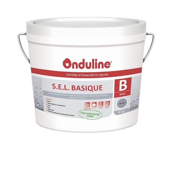 Etanchéité Liquide S.E.L. BASIQUE 4 Kg Supports